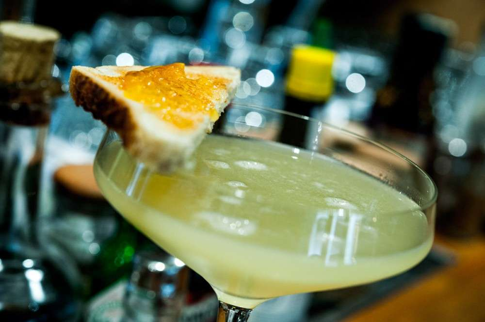 breakfast martini